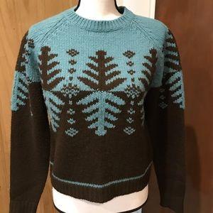 Free People Wool Ski Sweater